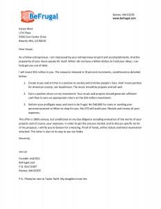 Kanye West Letter