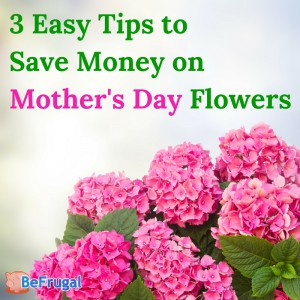 3 Easy Tips to Save Money on Mother's Day Flowers