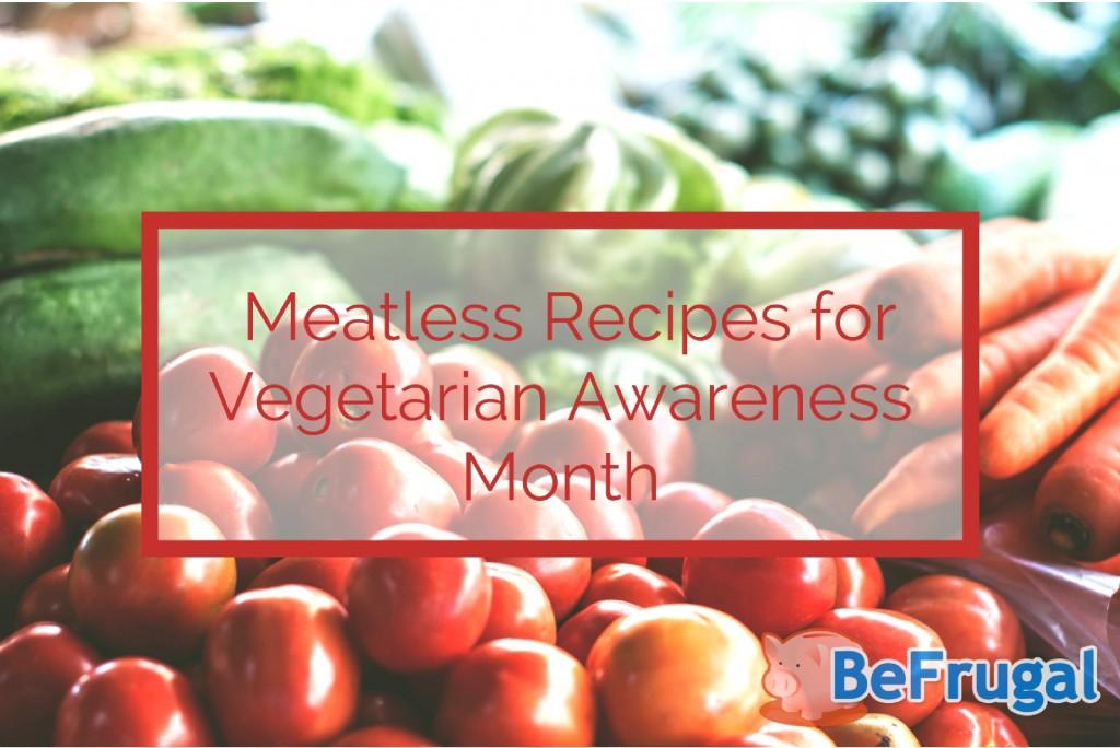Vegetarian Awareness Month