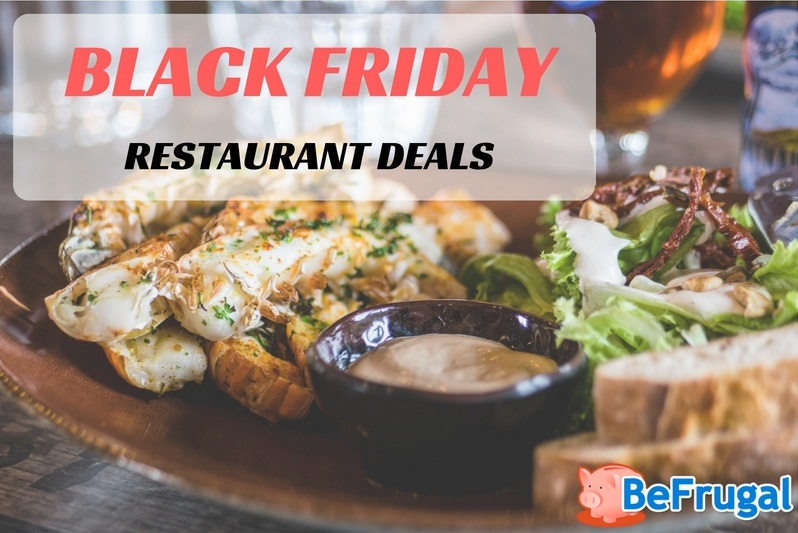 Black Friday Restaurant Deals