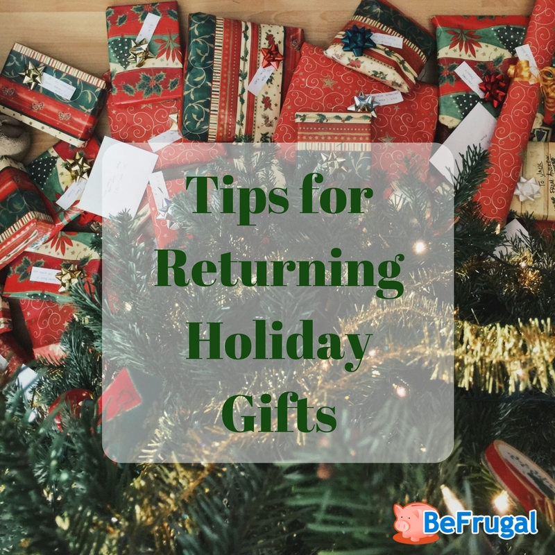 Tips forReturning Holiday Gifts