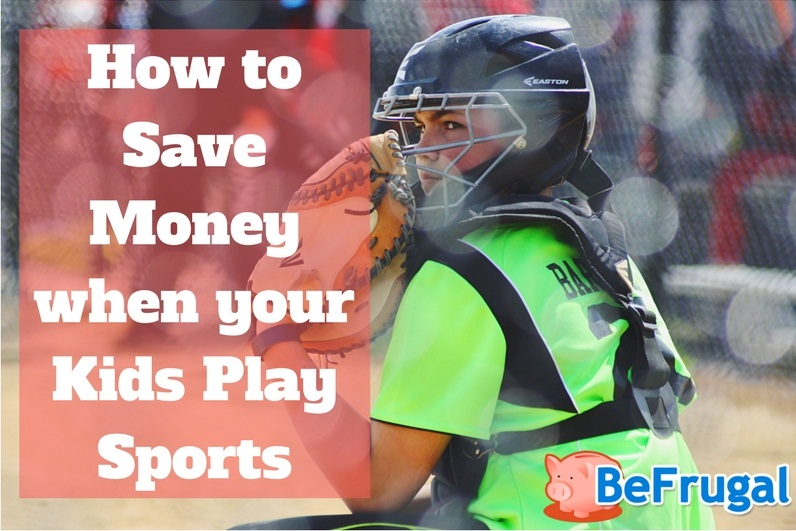 How to Save Money when your Kids Play Sports