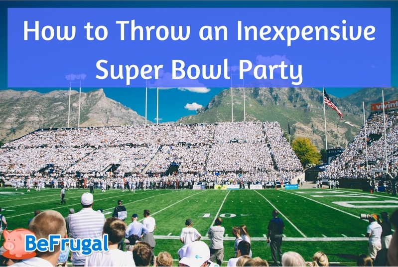 How to Throw an Inexpensive Super Bowl Party