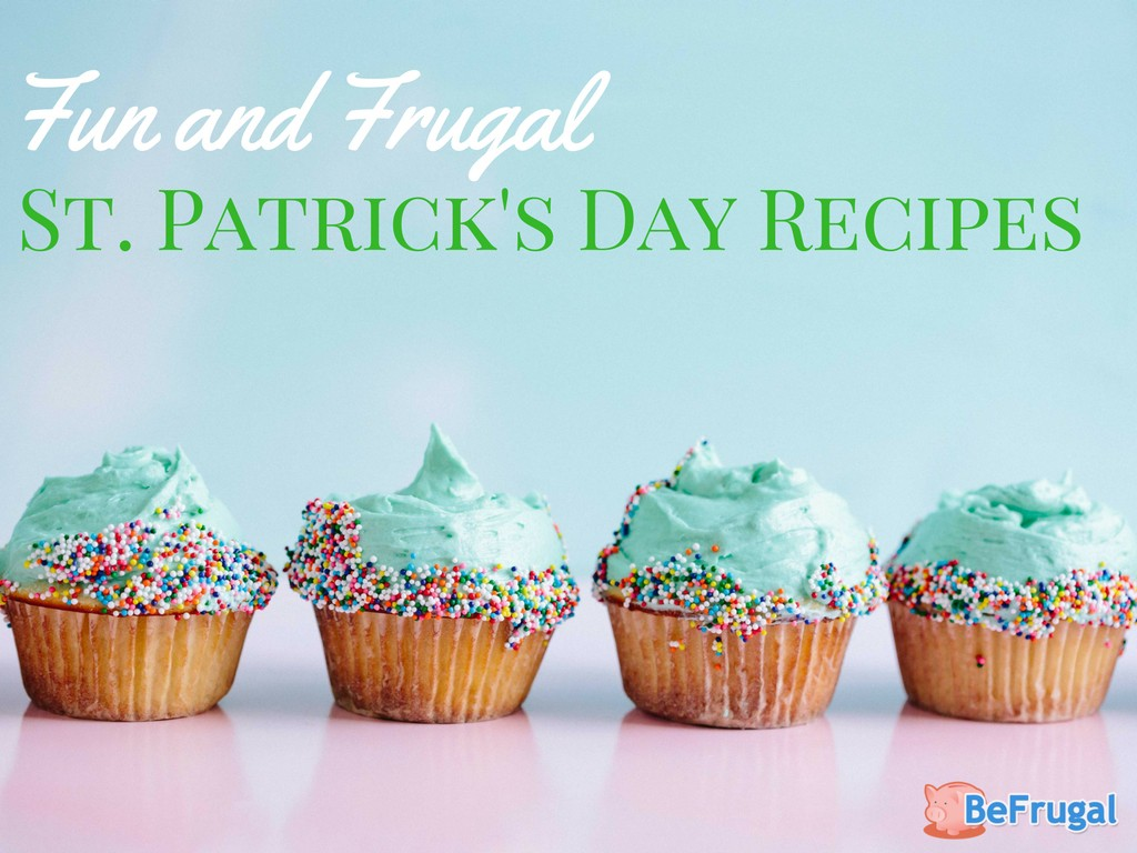 Frugal St. Patrick's Day Recipes