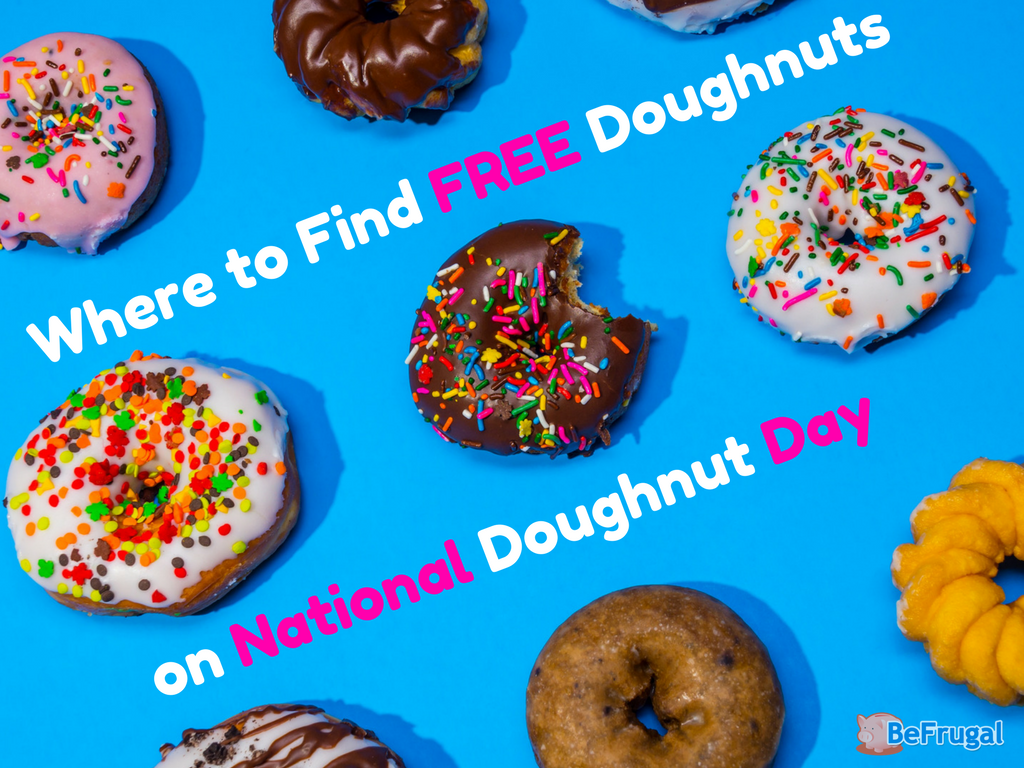 Where to find FREE Doughnuts