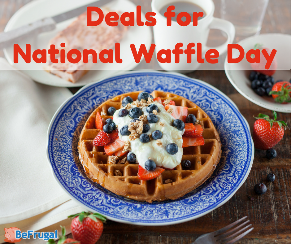 Deals for National Waffle Day
