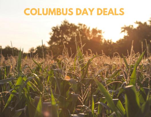 Columbus Day Deals