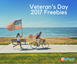 Veteran's Day 2017 Freebies