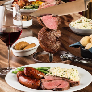 Texas de Brazil has many mouthwatering options!